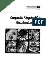 Organic Vegetable Gardening (PB1391)
