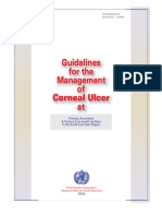Guidelines for the Management of Corneal Ulcer WHO