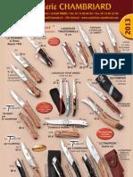 Catalogue Chambriard