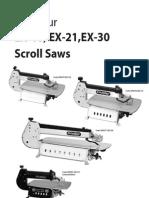 Axminster EX-21 Scroll Saw manual