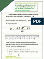 Editor de Ecuaciones