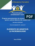 genetică şi microbiologie
