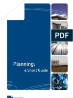 Planning - A Short Guide