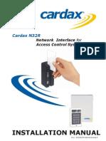 Cardax n32r Rev f Inst Eng