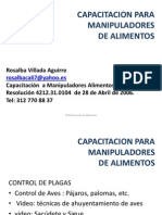 Capacitacion Control de Plagas Aves