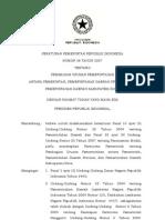 PP Nomor 38 Tahun 2007 Pembagian Urusan Pemerintahan