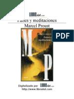 36417847 Proust Marcel Paises y Meditaciones