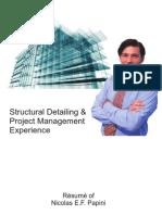 Résumé Senior Structural Steel Detailer - Nicolas Papini
