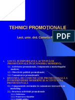 Politica Promotionala