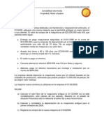 Ejercicio Propiedad, Planta y Equipo