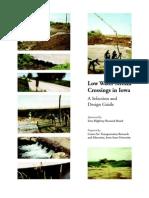 LowWaterStreamCrossings in Iowa