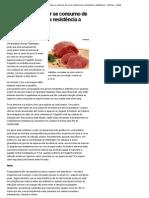 Cientista quer saber se consumo de carne contribui para resistência a antibióticos - Notícias - Saúde