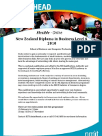 NZ Diploma Business Online 2010