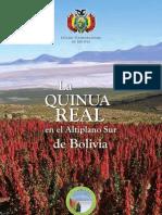 2011. Soraide, David. La Quinua Real en el Altiplano Sur de Bolivia. Fundación FAUTAPO - RM