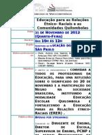 VC_21-11-2012-_m_-_Streaming_-_Educação_para_as_Rela  ções Étnico- Raciais e as Comunidades Quilombolas