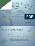 Cor Pulmonale Dan Gagal Jantung