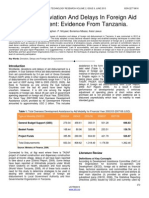 causes-of-deviation-and-delays-in-foreign-aid-disbursement-evidence-from-tanzania
