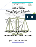 TRT-GO-Regimento-Interno-Esquematizado-por-Claudete-Pessôa