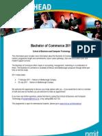 Bachelor of Commerce 2011(1)
