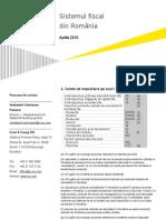 81491656 Taxation in Romania April 2010 RO
