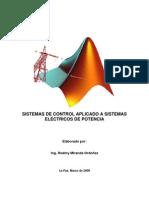 Manuscrito - SISTEMAS DE CONTROL APLICADO A SISTEMAS ELÉCTRICOS DE POTENCIA
