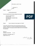 DH B1 Matt Waxman Fdr- Entire Contents- Waxman Questions and Withdrawal Notice Re Notes on Waxman 9-11 Notes 799
