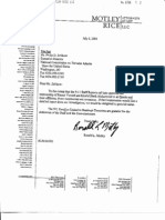 Letter from Motley Rice Saying 9/11 Commission's Conclusions about KSM Are Wrong
