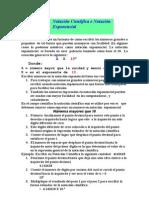 Notación científica es un formato de como escribir los números grandes o pequeños