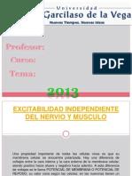 Exitabilidad Independiente Del Nervio y Musculo (2)