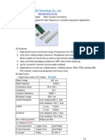 Rf Connector Datasheet