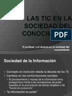 Las TIC en La Sociedad Del Conocimiento