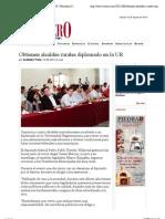 09/08/13 Obtienen alcaldes rurales diplomado en la UR | Periodico Crucero