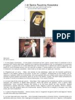 Pensieri Santa Faustina Kowalska