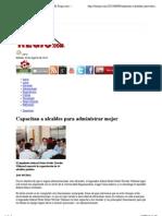 09/08/13 Capacitan a alcaldes para administrar mejor   El Regio.com – Noticias de Monterrey, México y el Mundo