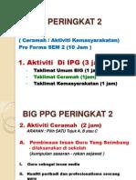 Ceramah Dan Khidmat Masyarakat BIG PPG PKT 2