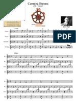 Carmina Burana Carl Orff Flauta Dulce