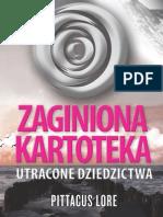 Zaginiona Kartoteka. Utracone Dziedzictwa