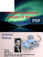 Philippine National Artists for Music
