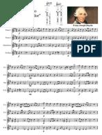 Cuarteto Emperador Haydn Flauta Dulce