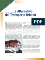 Cable TREN-Sistema Alternativo Del Transporte Urbano