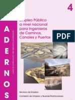 C04.1 Empleo Público a Nivel Nacional para los Ingenieros de Caminos