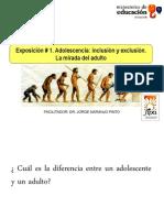 Charla 1. Adolescencia. Inclusion y Exclusion