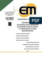 Electróstatica Actividades Experimentales