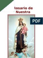 Rosario de Nuestra Señora del Carmen