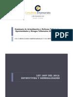 ACTUALIZACIÓN Y REFORMA TRIBUTARIA 2012-2013 29ENE2013 _(1_) (1)