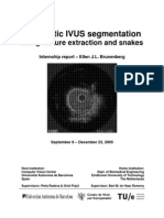 Report - Automatic IVUS Segmentation Using Feature Extraction and Snakes