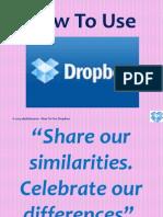 Darlin_Tenoso_How to Use Dropbox