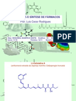 ESTRUTURA E SÍNTESE DE FÁRMACOS III