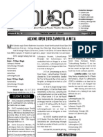 DVSC Chanchinbu, August 11 Issue