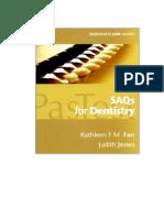 71984868 Saqs for Dentistry